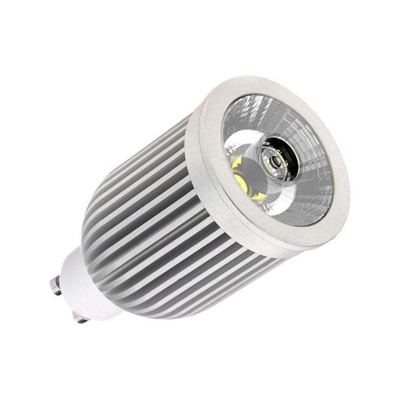 Bombilla LED GU10-COB, 9W, Blanco neutro